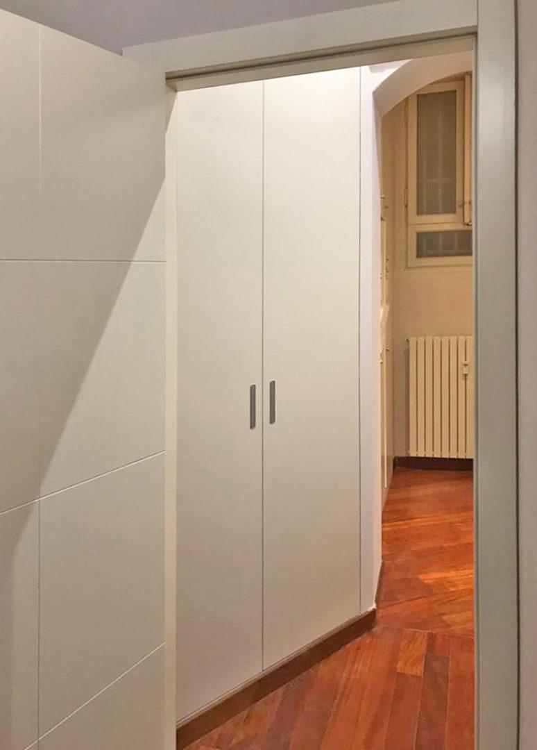L'armadio Rasomuro per interni: una soluzione per lo spazio e per il cliente